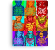 One Piece - Straw hats with quotes Canvas Print