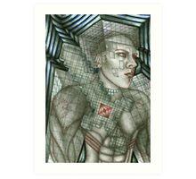 Hybrid Steve Art Print