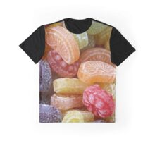 Heller & Strauss Tutti Frutti Fruit Flavored Candies - Made In Germany Graphic T-Shirt