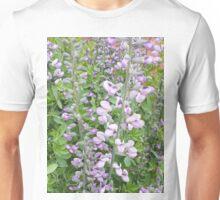 Purple Flowers Unisex T-Shirt