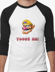 """Touch me"" - WARIO Men's Baseball ¾ T-Shirt"