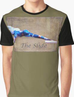 The Baseball Slide of Russel Martin Graphic T-Shirt
