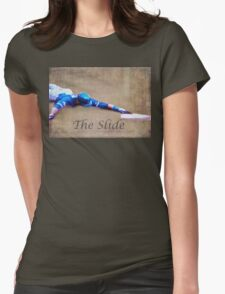 The Baseball Slide of Russel Martin Womens Fitted T-Shirt