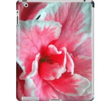Azalea Close-up iPad Case/Skin