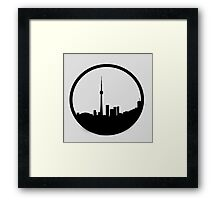 The 6ix Circle Logo Framed Print