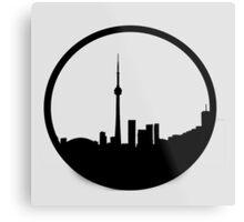 The 6ix Circle Logo Metal Print