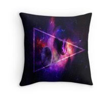 Space punk  Throw Pillow