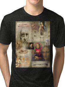 leonardo da vinci Tri-blend T-Shirt