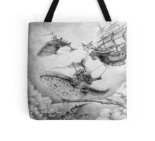 Wind Whales Tote Bag