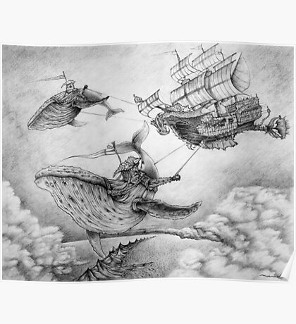 Wind Whales Poster