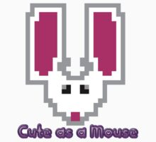 Cute as a Mouse Baby Tee