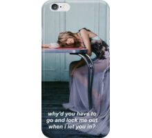 taylor swift all you had to do was stay iPhone Case/Skin