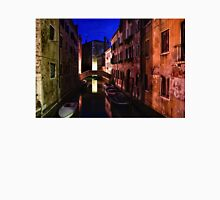 Impressions of Venice - Wandering Around the Small Canals at Night Unisex T-Shirt
