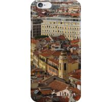 Red Roofs of Europe - Nice, France, French Riviera iPhone Case/Skin
