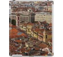 Red Roofs of Europe - Nice, France, French Riviera iPad Case/Skin