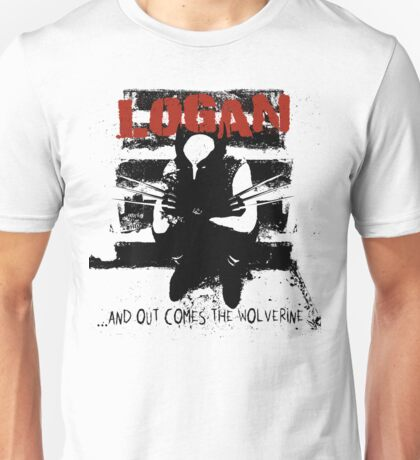 ...And Out Comes The Wolverine Unisex T-Shirt