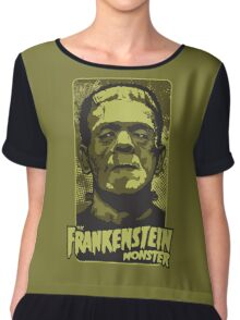 The Frankenstein Monster illustration Chiffon Top