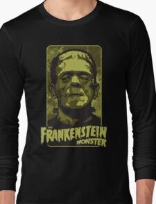 The Frankenstein Monster illustration Long Sleeve T-Shirt