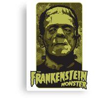 The Frankenstein Monster illustration Canvas Print