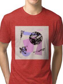 Circles And Shards Tri-blend T-Shirt