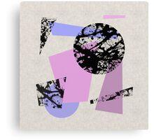 Circles And Shards Canvas Print