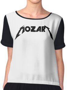 Mozart Metallica Type Parody Chiffon Top