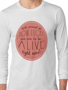 Look Around - Hamilton Long Sleeve T-Shirt