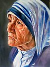 portrait of Mother Teresa by Hidemi Tada