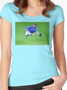 Kevin Pillar's Mighty Dive Women's Fitted Scoop T-Shirt