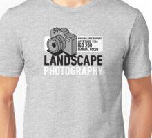 Landscape Photography Unisex T-Shirt