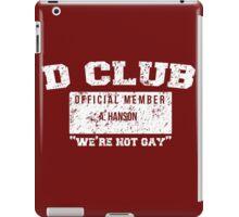 D Club ID iPad Case/Skin
