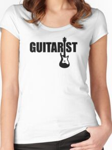 Guitarist Women's Fitted Scoop T-Shirt