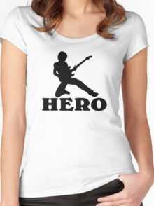 Guitar Hero Women's Fitted Scoop T-Shirt