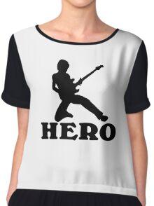Guitar Hero Chiffon Top