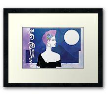 Moonlight SOUL Framed Print