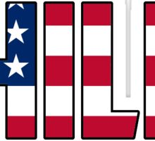 Philly American Flag Sticker