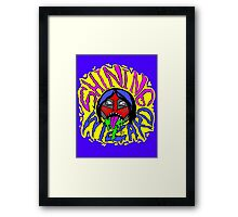 SHINING WIZARD Framed Print
