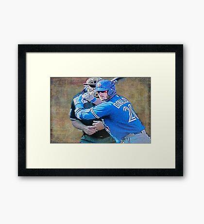 Josh Donaldson MVP At Bat Framed Print
