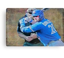 Josh Donaldson MVP At Bat Canvas Print