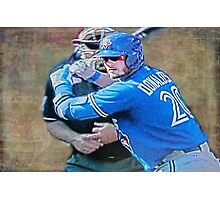 Josh Donaldson MVP At Bat Photographic Print