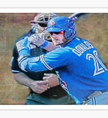 Josh Donaldson MVP At Bat Sticker