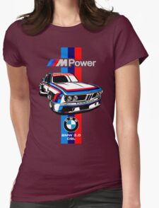 BMW CSL Series Womens Fitted T-Shirt