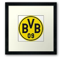 Borrusia Dortmund Badge Framed Print