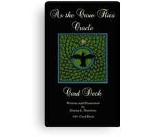 NEW! As the Crow Flies Oracle Cards Canvas Print