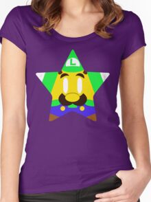 Weegee Power Star Women's Fitted Scoop T-Shirt