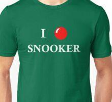 I LOVE SNOOKER Unisex T-Shirt