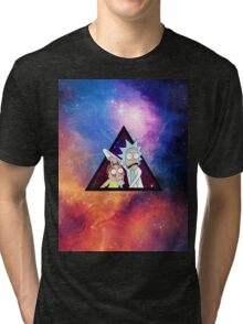Rick and morty spaceeee. Tri-blend T-Shirt
