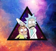 Rick and morty spaceeee. Sticker