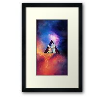 Rick and morty spaceeee. Framed Print