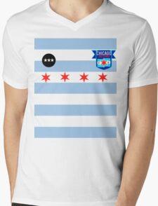 Chicago Red Stars Inspired Jersey Mens V-Neck T-Shirt